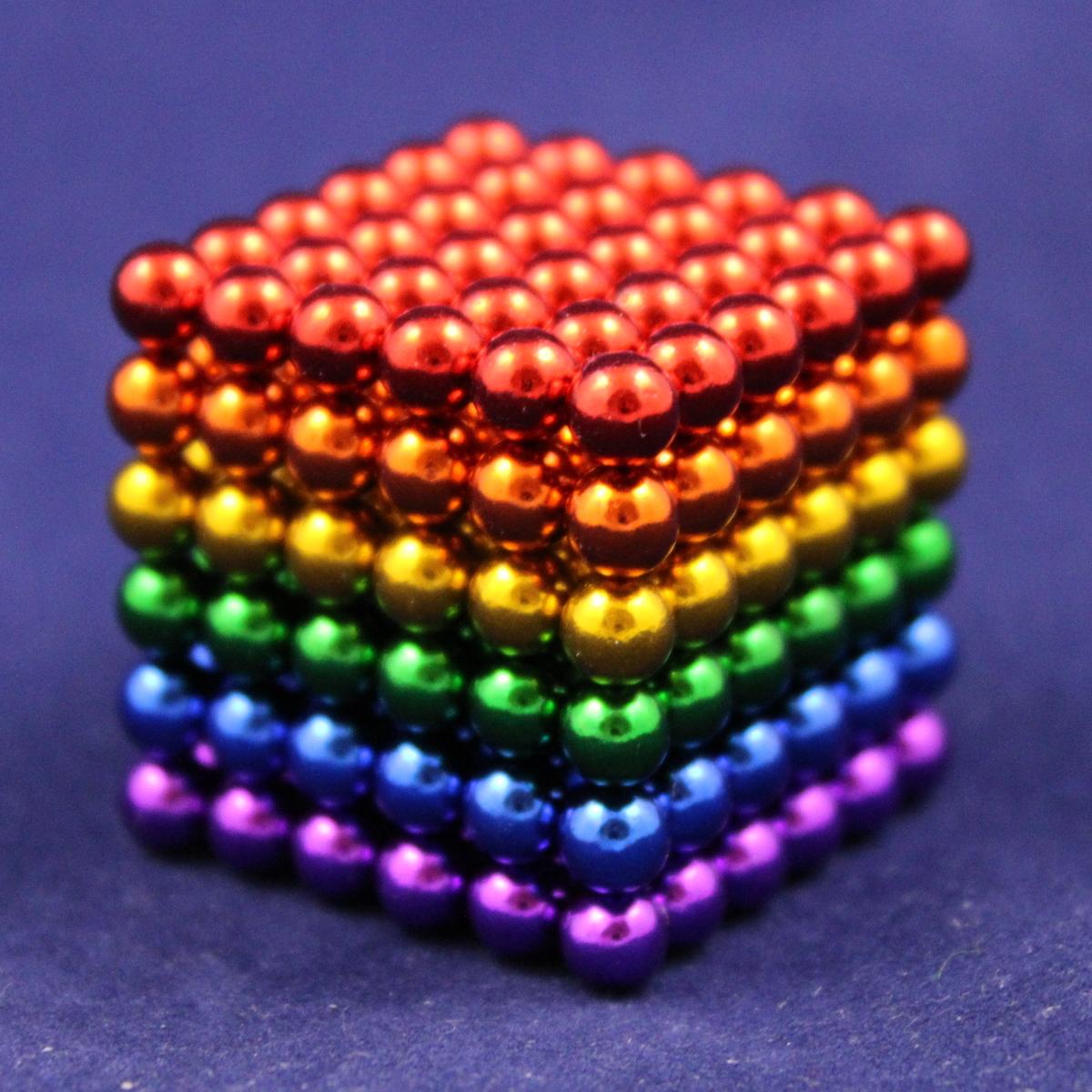 blau Neocube 216 Magnet Würfel Neodym Kugelmagnet DIY K... Neo Ball Cube 5mm
