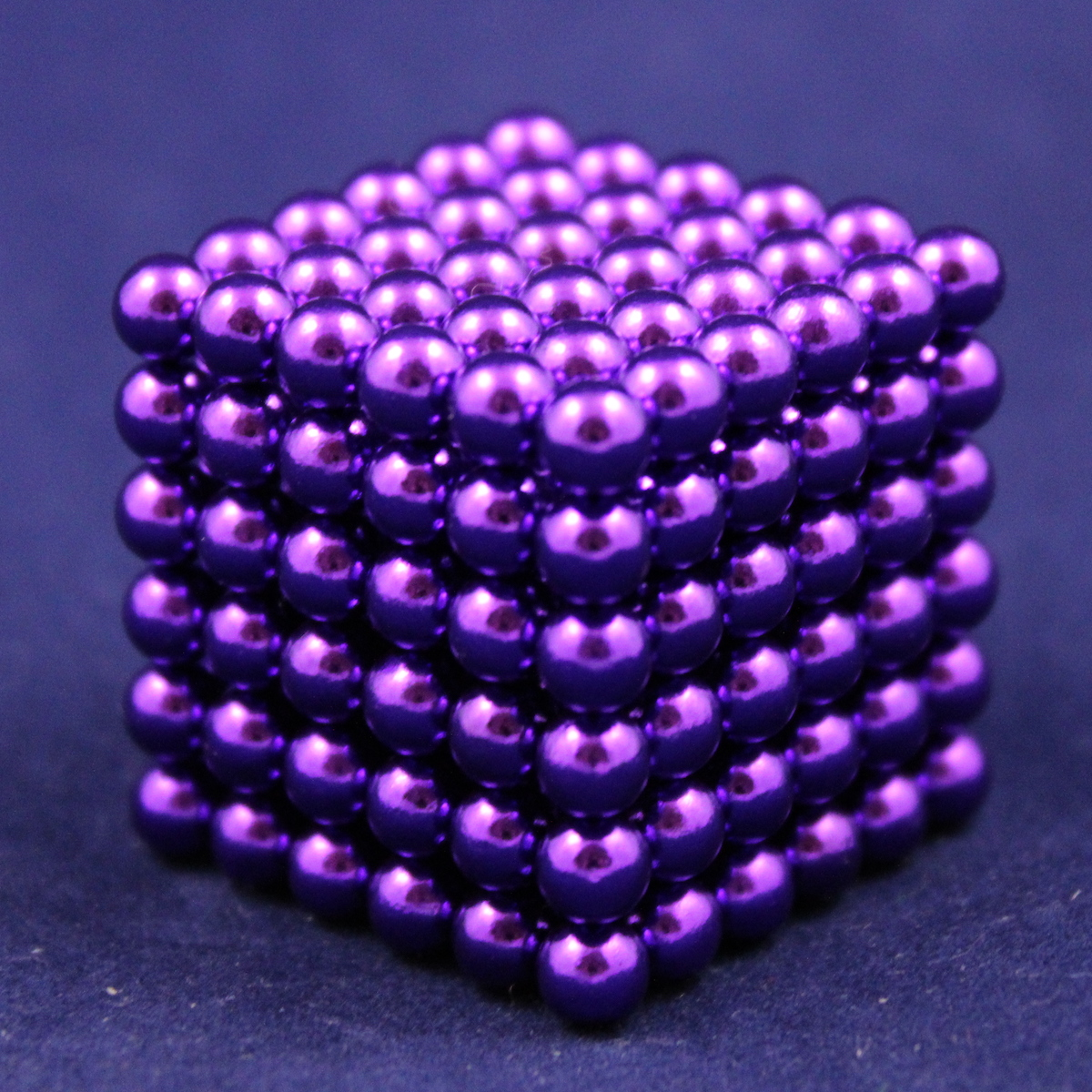 violett Neocube 216 Magnet Würfel Neodym Kugelmagnet DI... Neo Ball Cube 5mm